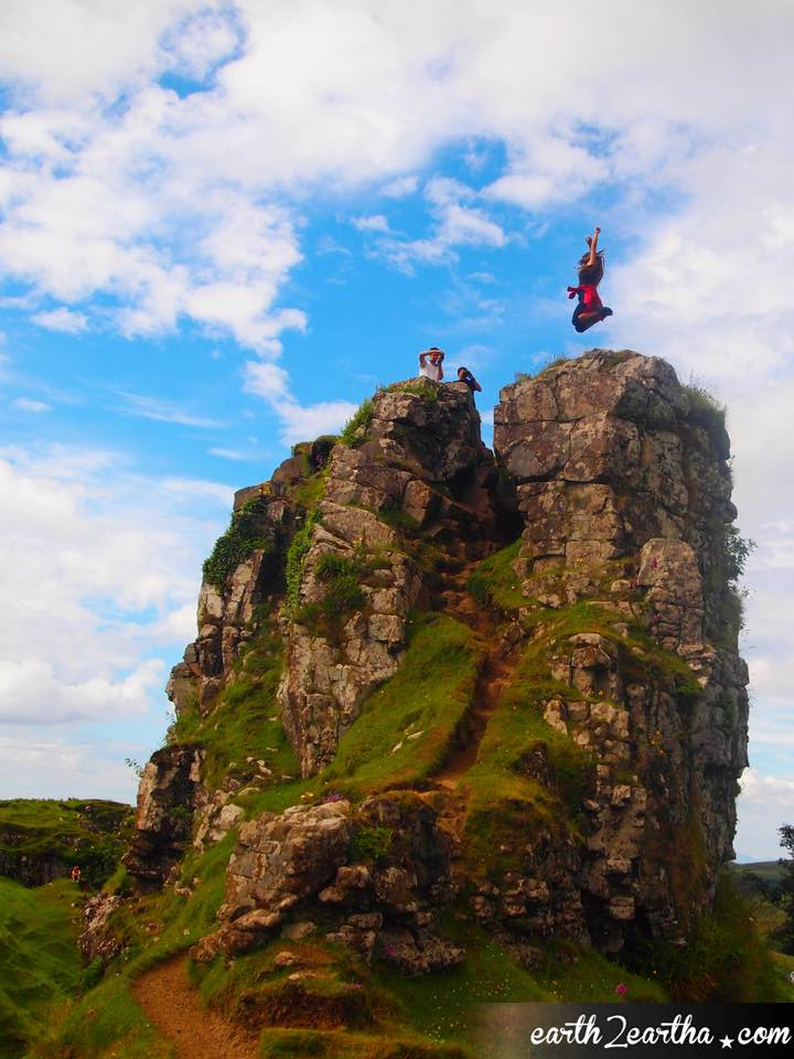 Fairy Glen Jump Shot, Isle of Skye, Scotland
