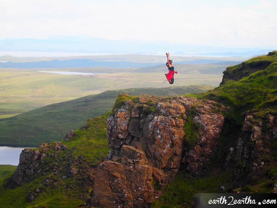 Cuith Raing Cliff Jump, Scotland