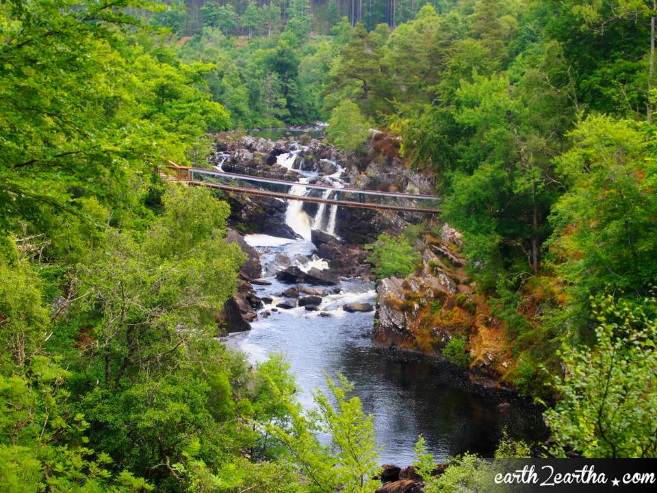 Scottish Highland Waterfall