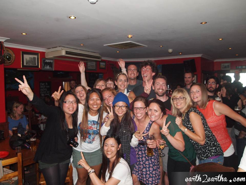 MacBackpackers tour group