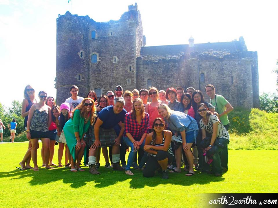 Doune Castle, Scotland, MacBacpackers Tours