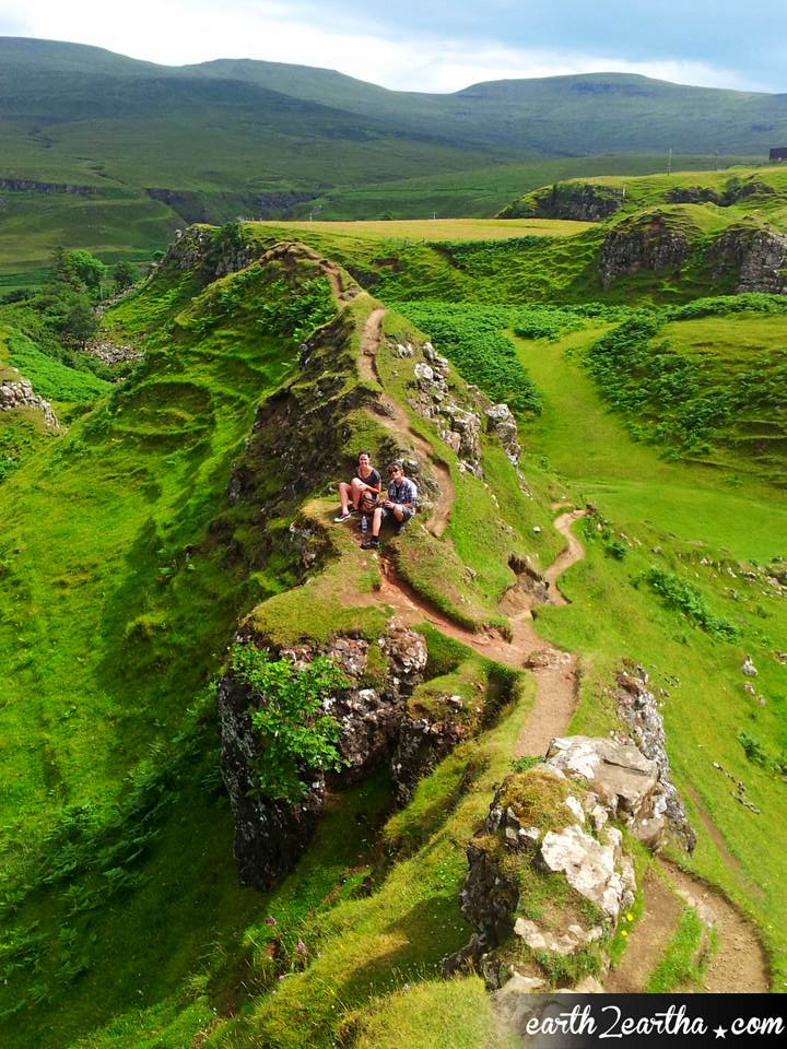 Fairy Glen, Isle of Skye, Scotland