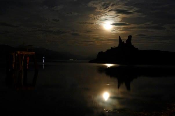 Spooky Castle Ruins. MacBackpackers Halloween