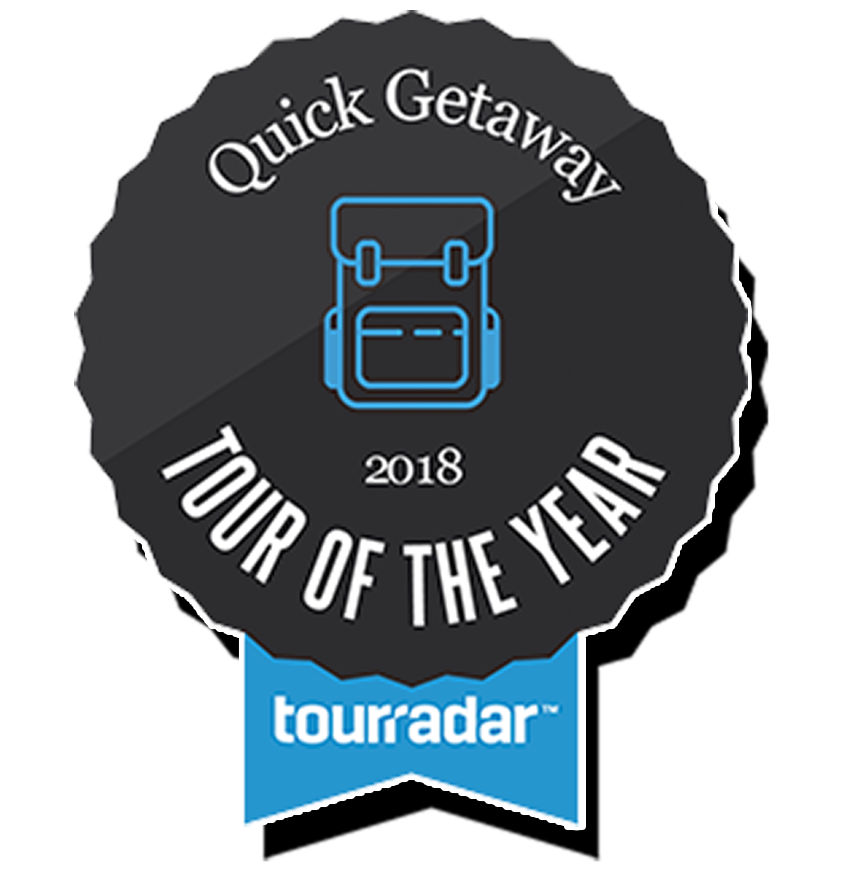TOTY_Tour of the Year Winner TourRadar Best Quick Getaway