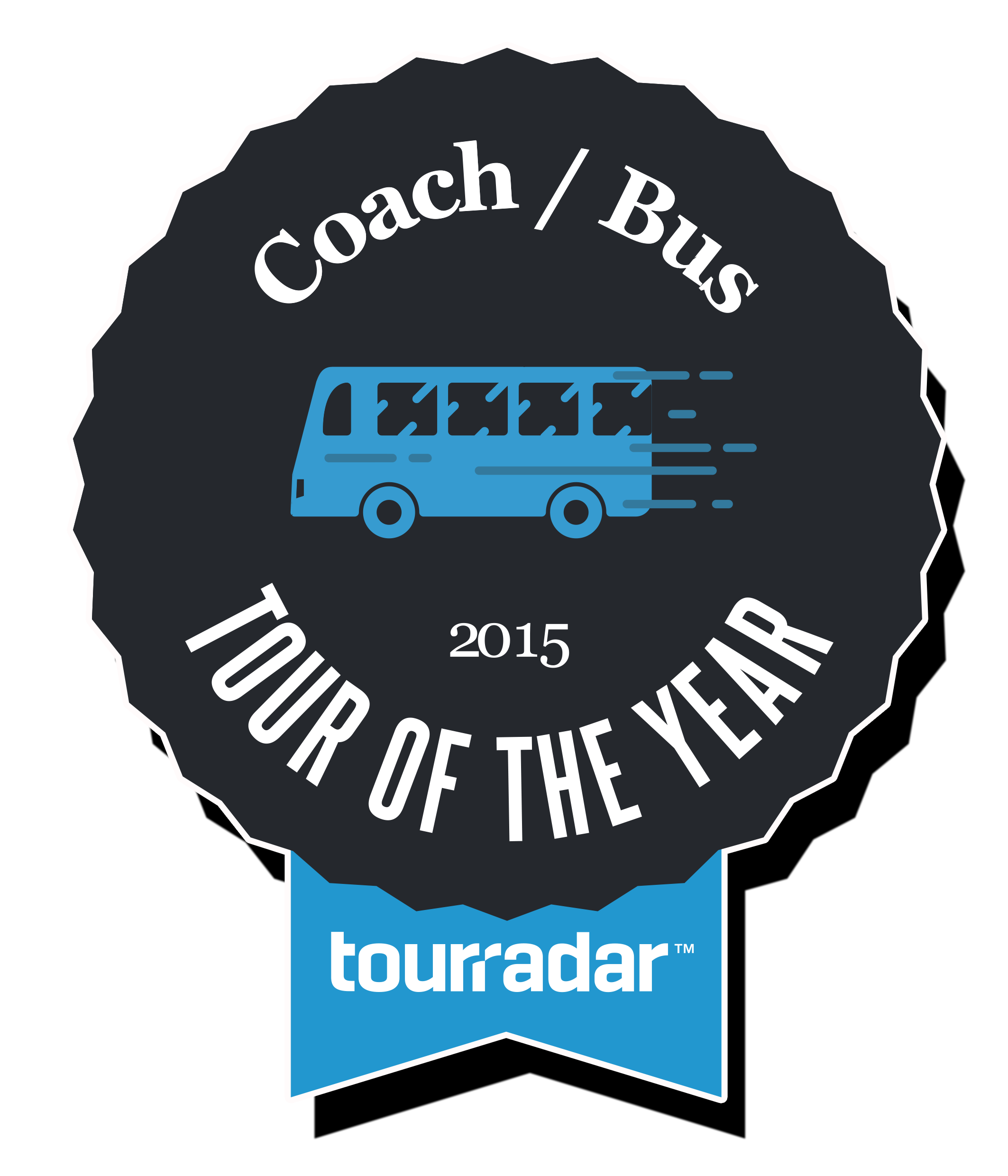 TOTY_Tour of the Year Winner TourRadar Best Bus / Coach tour