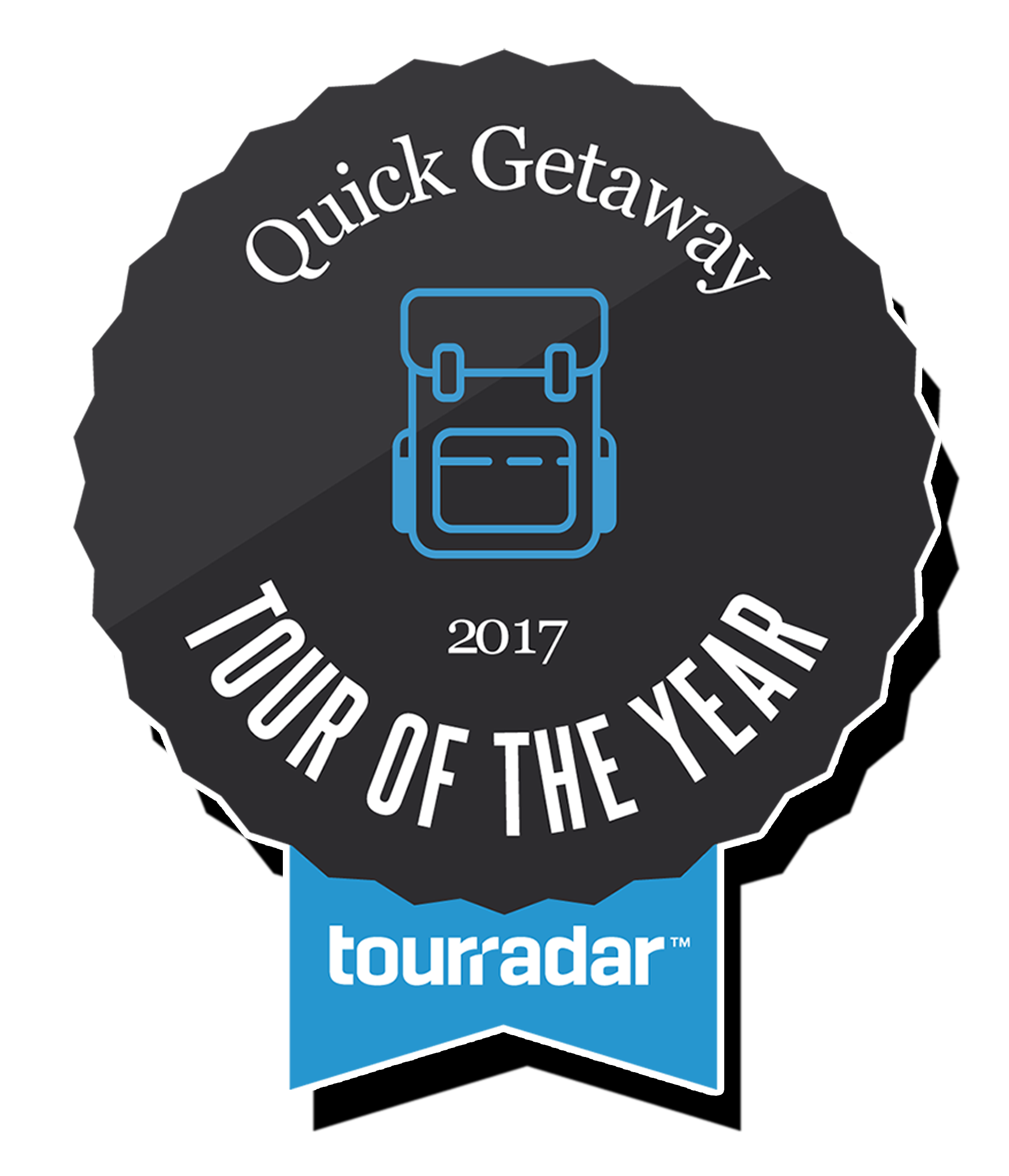 TOTY_Tour of the Year Winner TourRadar Best Quick Getaway tour