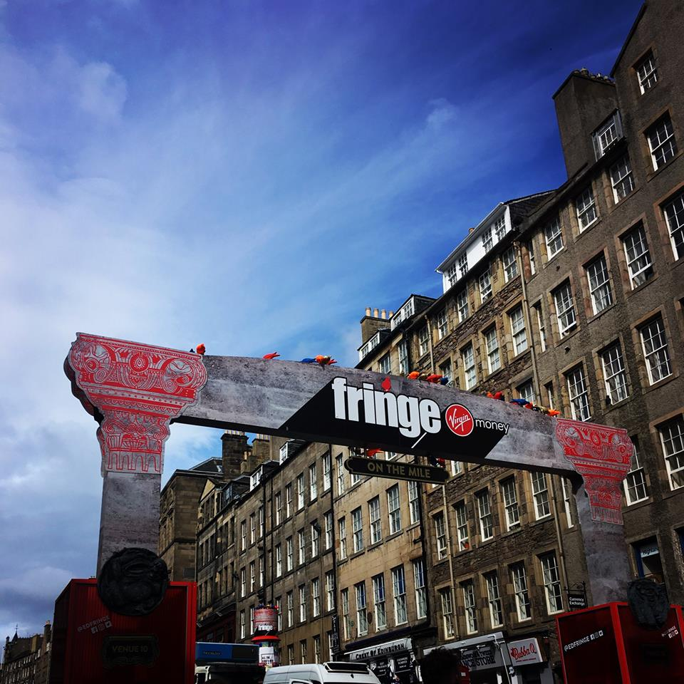 Edinburgh Royal Mile Fringe August