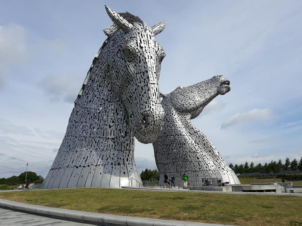 Kelpies - Tours of Scotland