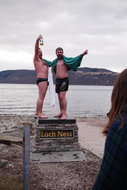 Dip in Loch Ness